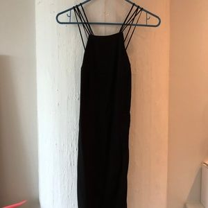 Urban Outfitters backless LBD
